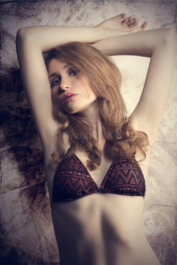 Womani w bikini zdjęcia stock