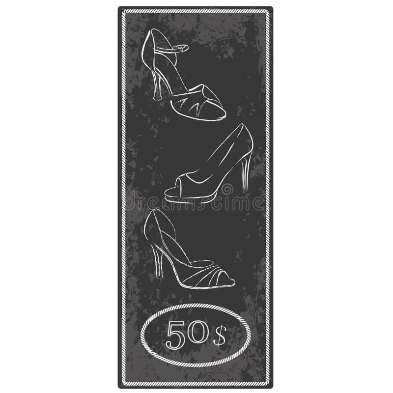 Womanish ботинки - вектор иллюстрация вектора