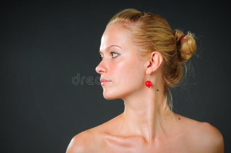 Womanish Schönheit und Gesundheit stockbild