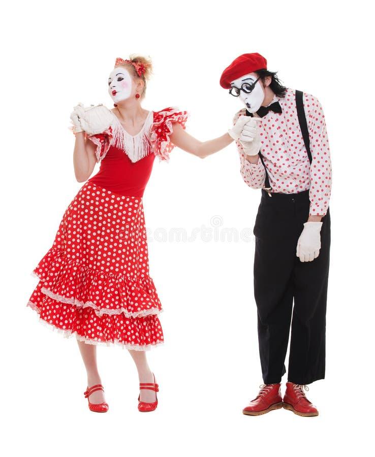 womans человека руки целуя стоковое изображение