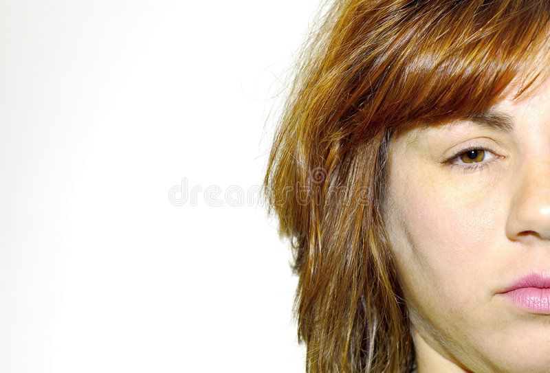 Download Womans Face stock photo. Image of adult, nose, face, mouth - 131010