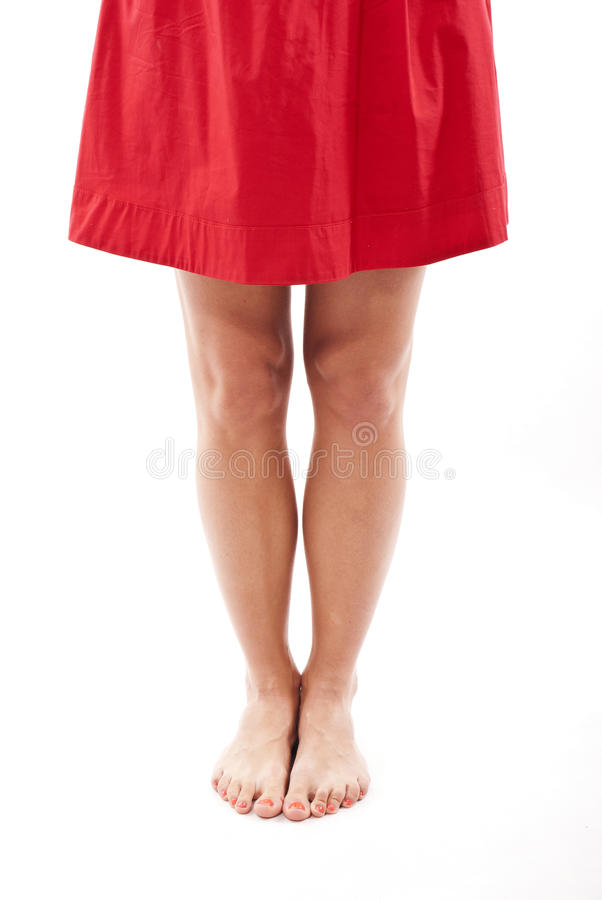 Womans legs royalty free stock images