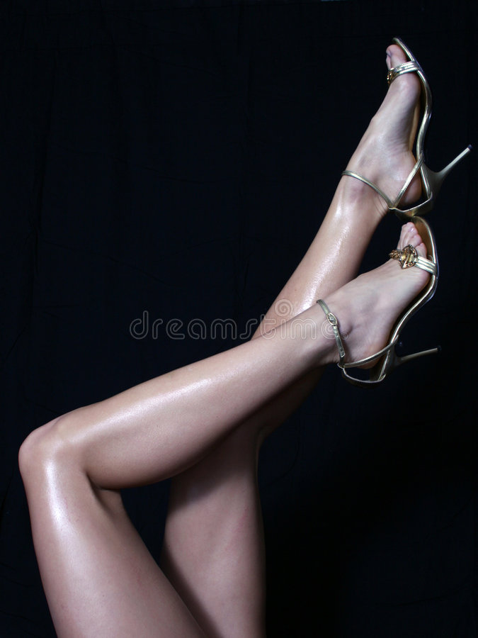 Womans Legs stock photos