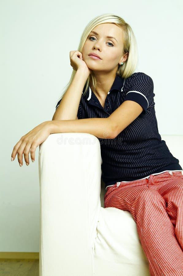 Womans Portrait stock image