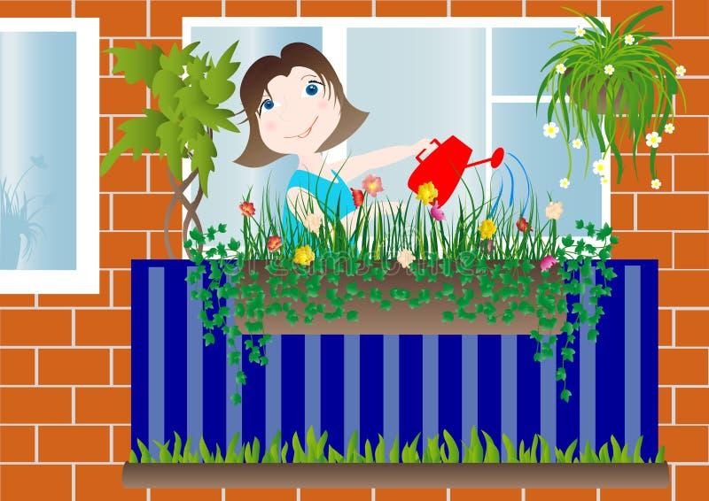 Download Women stock vector. Image of illustration, house, street - 9057811