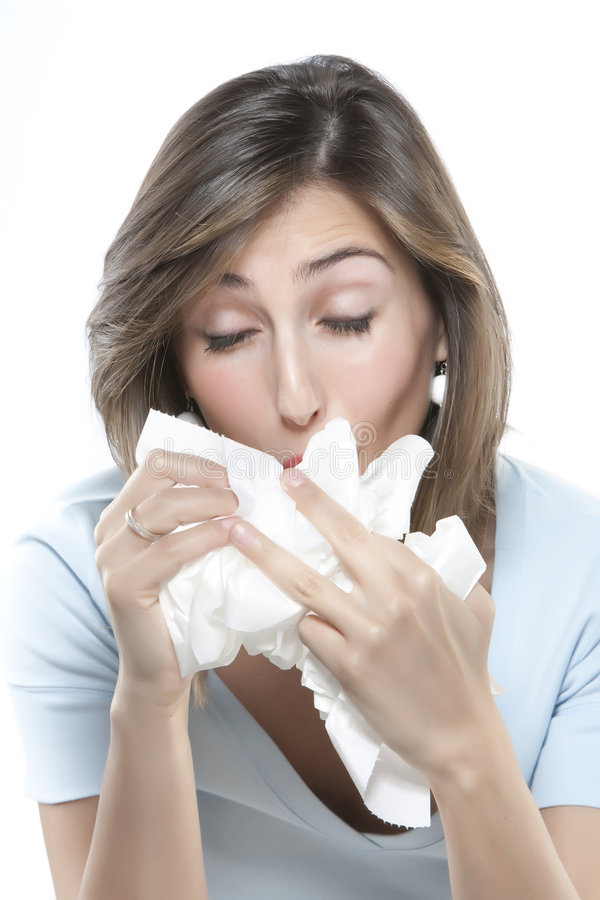 Download Women With Allergies Royalty Free Stock Photography - Image: 9163437