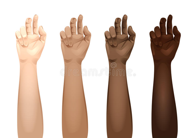 Women Arms Templates Stock Vector. Illustration Of Nation