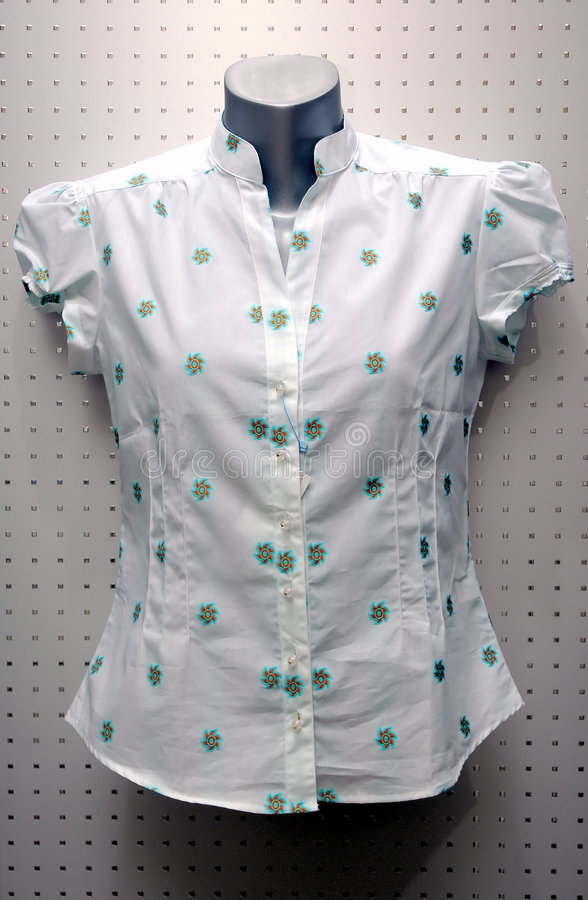 Women blouse royalty free stock photo
