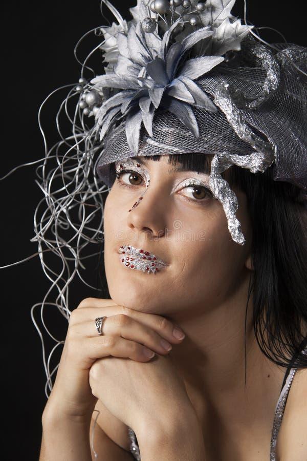 Women bodyart royalty free stock images