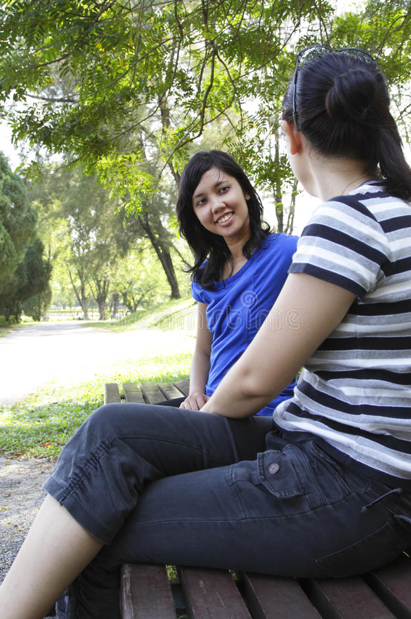 Download Women Chatting Royalty Free Stock Photo - Image: 16715695