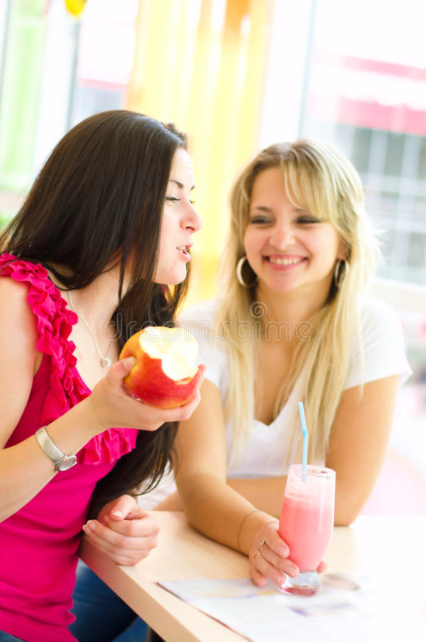 Download Women chatting stock image. Image of friendship, beautiful - 33123815