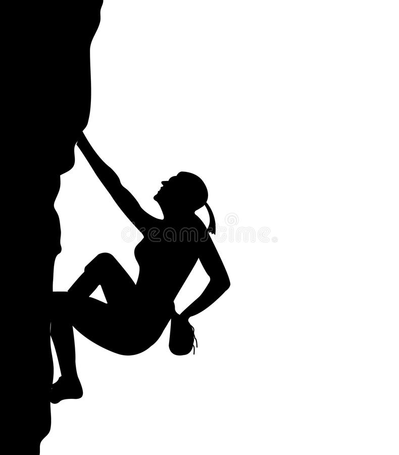 women climb stock vector illustration of action healthy 13833517 rh dreamstime com