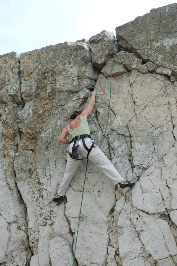Free Women Climber 2 Stock Photos - 257563