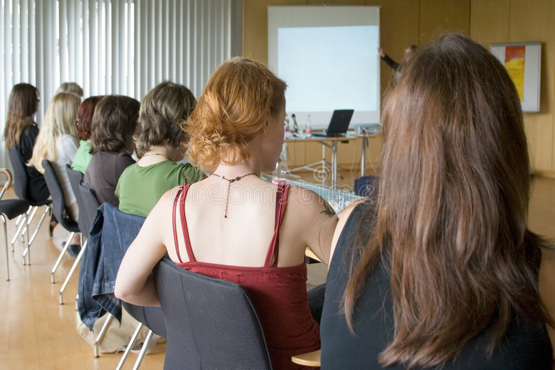 Women Conference stock photography