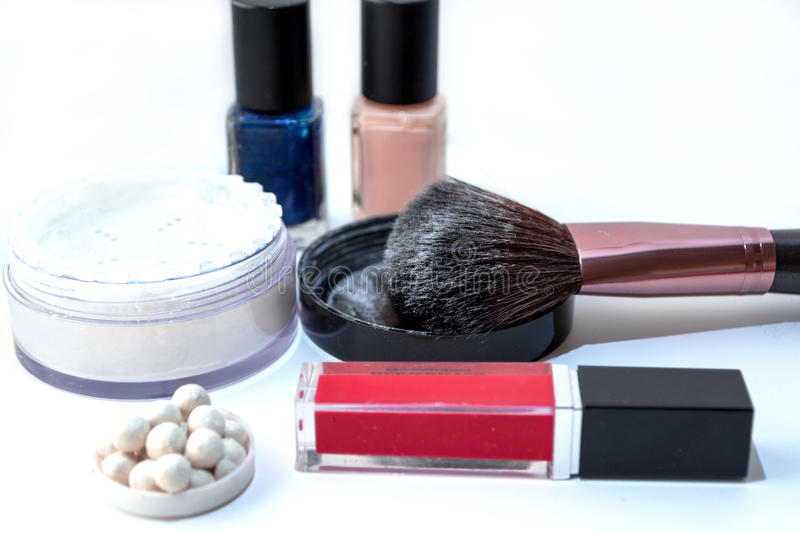 Women cosmetics royalty free stock image
