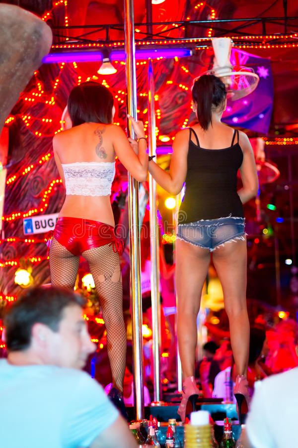 Download Women Dancing On The Pole In The Nightclub Of Patong Editorial Image - Image of brothel, girl: 28278650