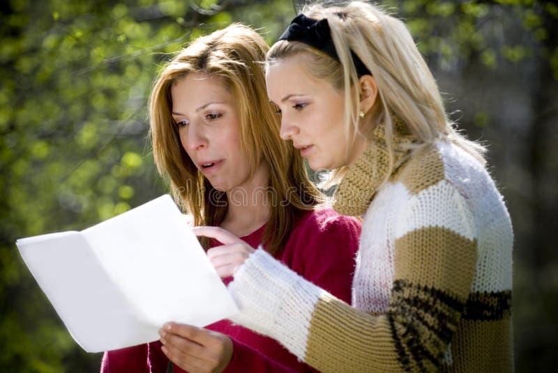 Women discussing