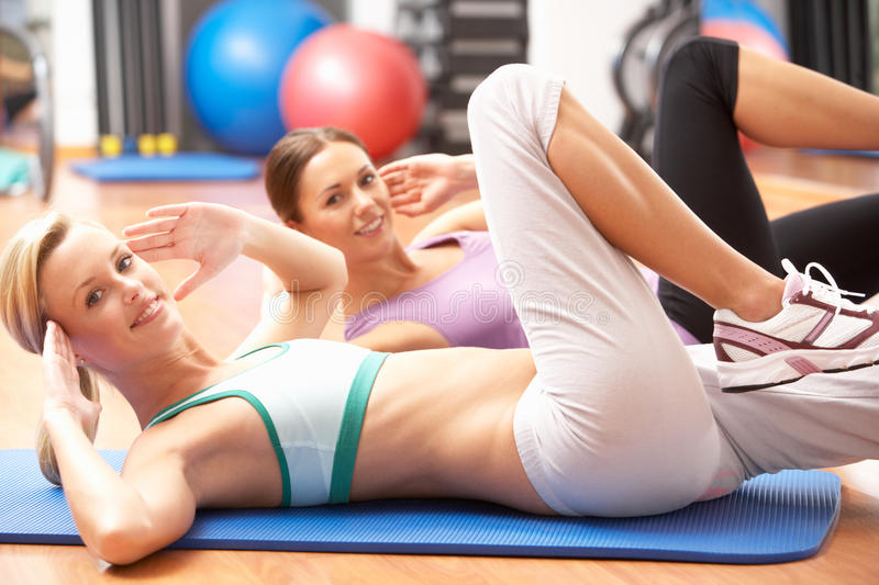 Download Women Doing Stretching Exercises Stock Photo - Image: 16301014