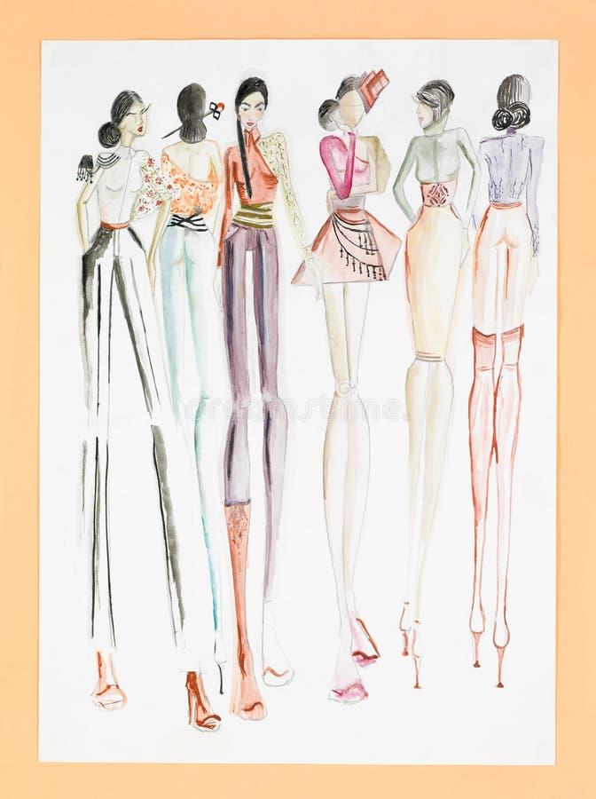 Women fashion collection vector illustration