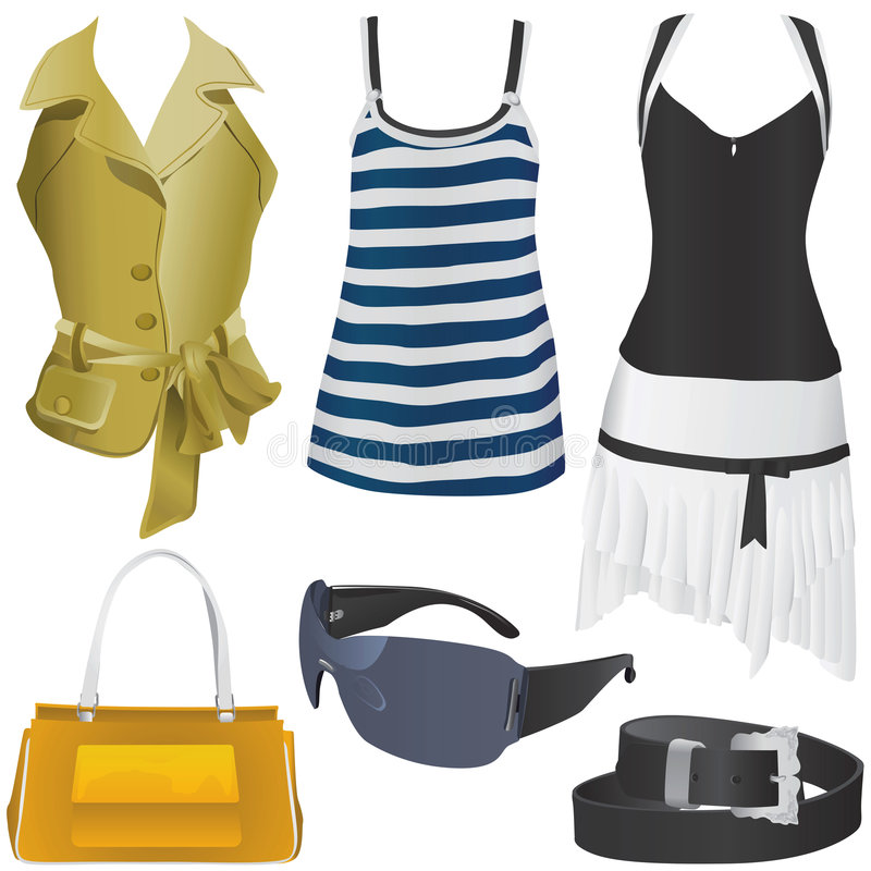 Download Women fashion vector stock vector. Illustration of underwear - 5047558