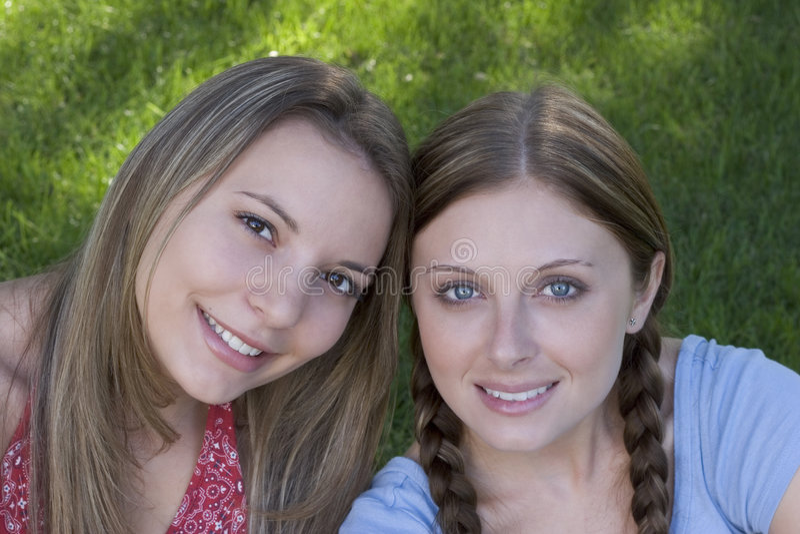Women Friends royalty free stock image