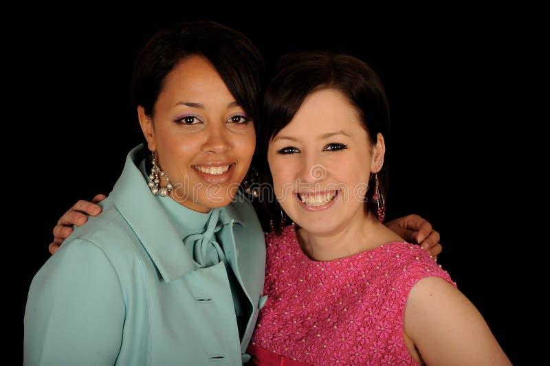 Women friends stock photo