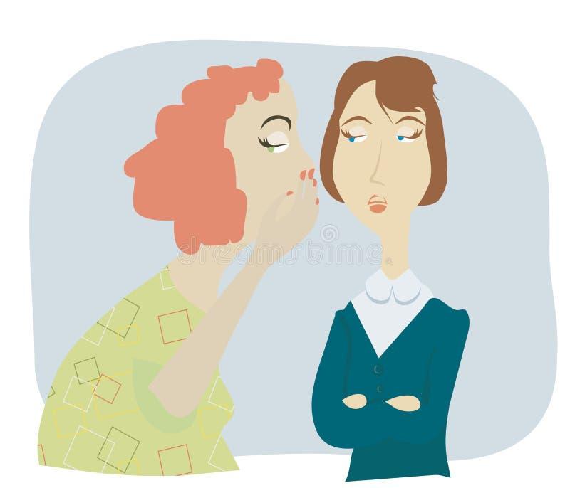Download Women gossip stock vector. Illustration of hand, strict - 9504583