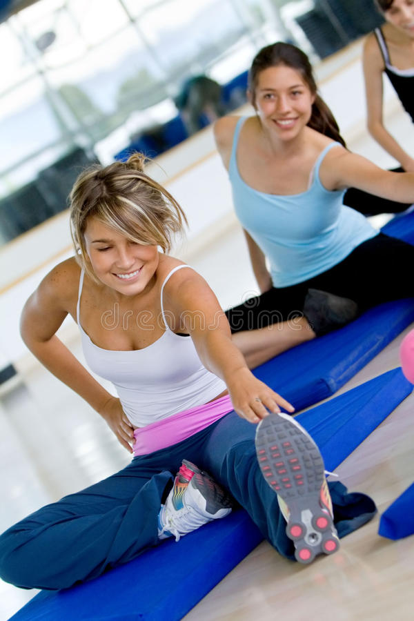 Download Women at the gym stock photo. Image of sporty, people - 13058306