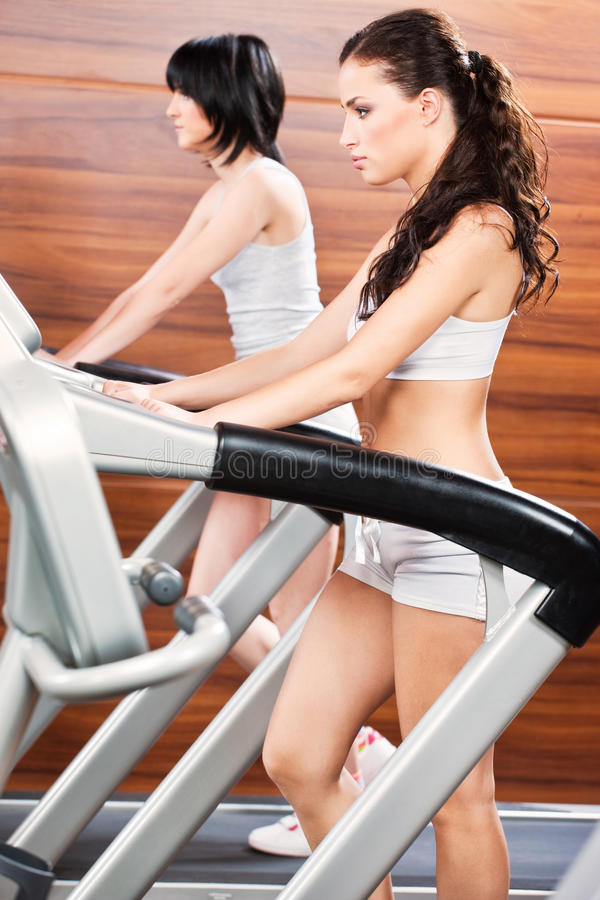 Women In Gym Center Stock Photography