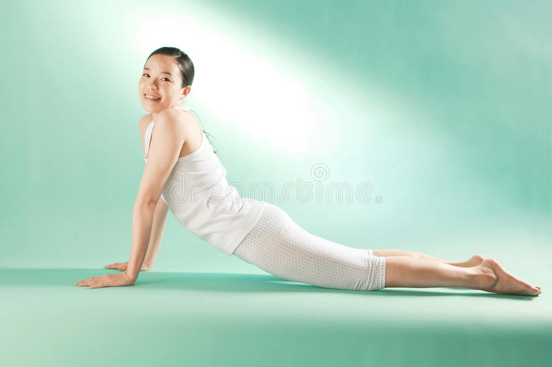 Women and healthy life. Asian Ethnicity stock photo