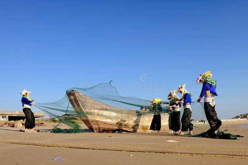Download The Women of Hui an editorial stock image. Image of china - 17552904