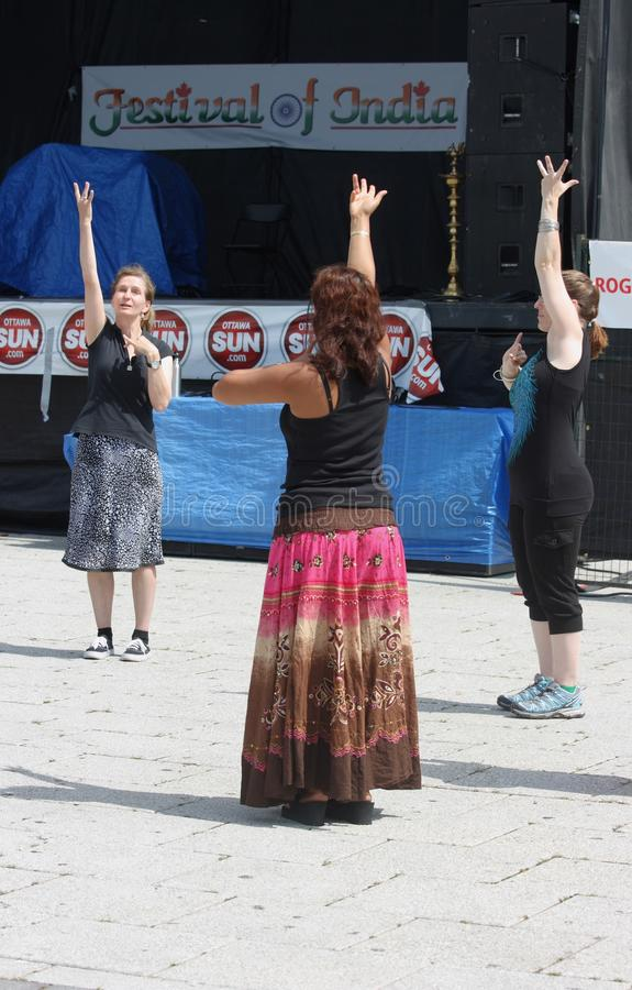 Download Women Learning to Dance editorial photo. Image of canada - 26547381