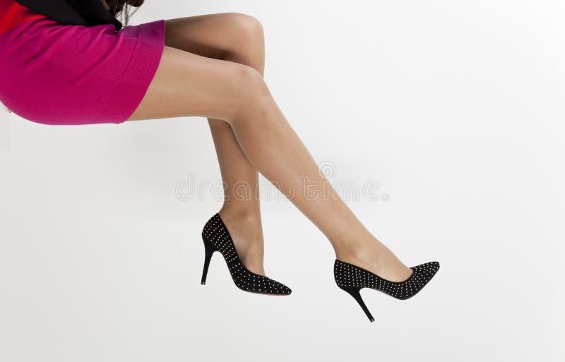 Women legs stock photo