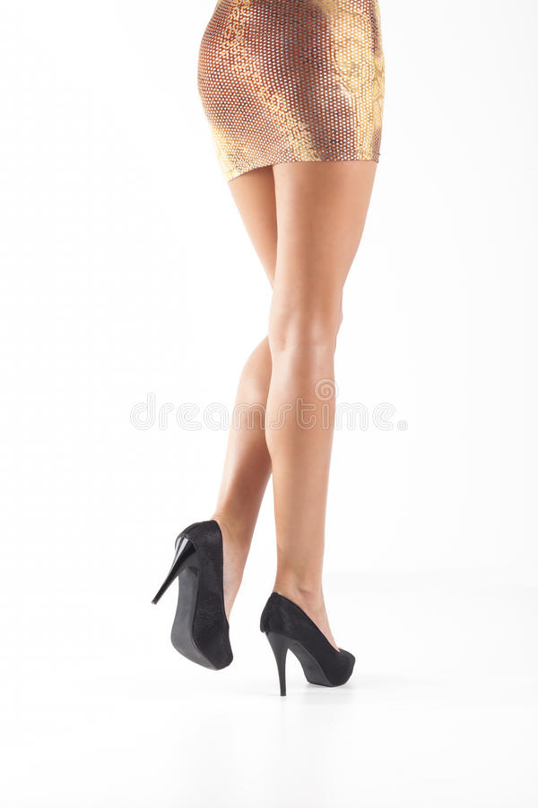 Download Women legs with shoes stock image. Image of legs, caucasian - 25495833