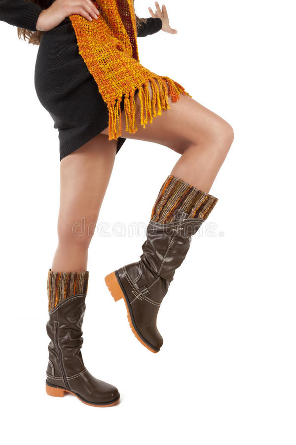 Free Women Legs With Shoes Royalty Free Stock Photography - 27689587