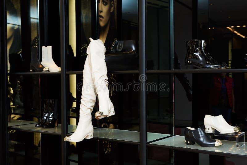 Women luxury shoes royalty free stock photo