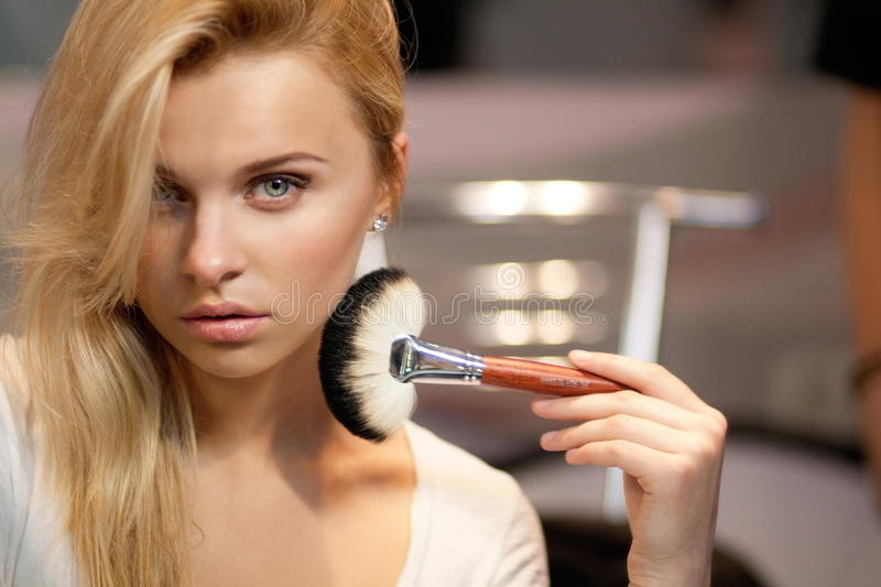 Women make up stock images