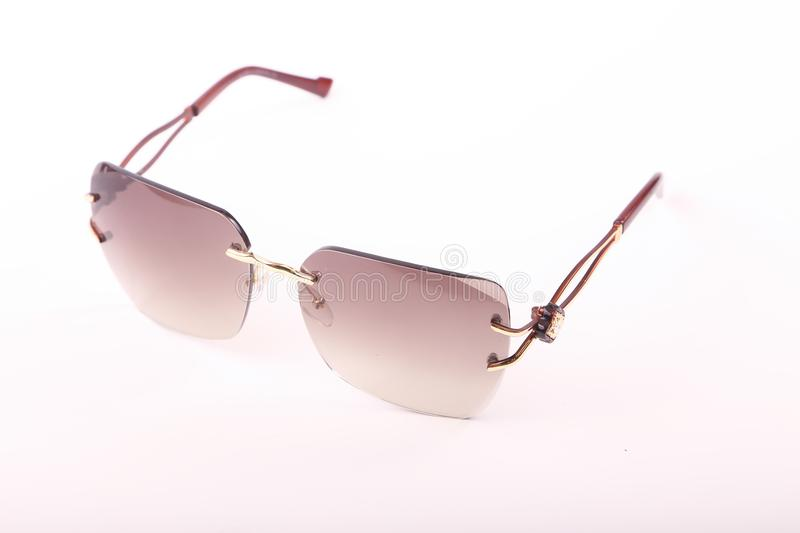 Sunglasses for modern women stock photography