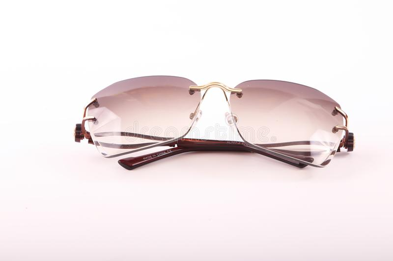 Sunglasses for modern women royalty free stock photography