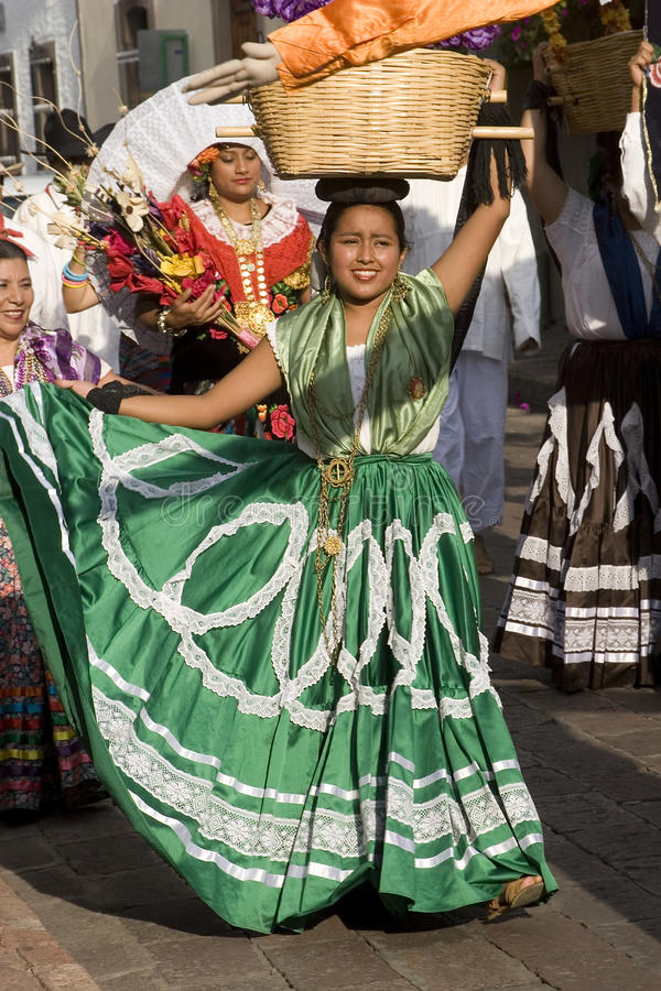 Women from Oaxaca royalty free stock photography