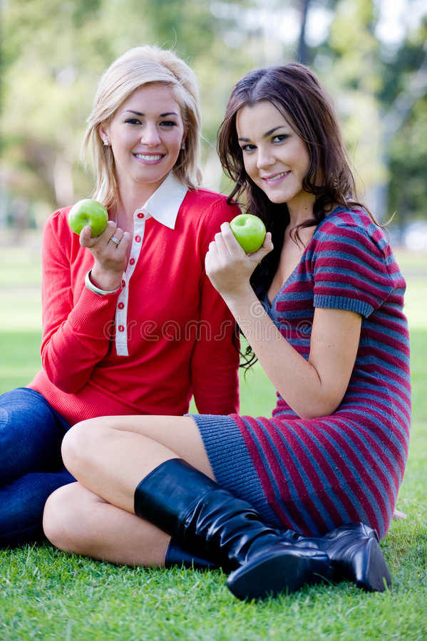 Women Outside stock images