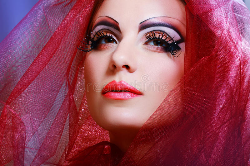 Download Women With Perfect Art Make Up Stock Images - Image: 31180334