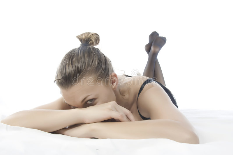 Download Women in relax stock image. Image of white, woman, rest - 8714303