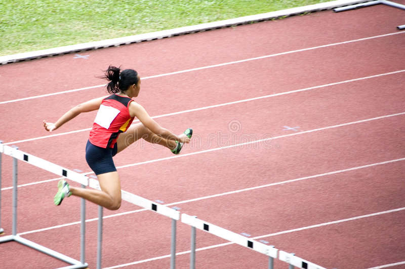 Download Women's 100m Hurdles Stock Images - Image: 1976414