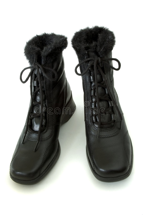 Women's Boot's royalty free stock image