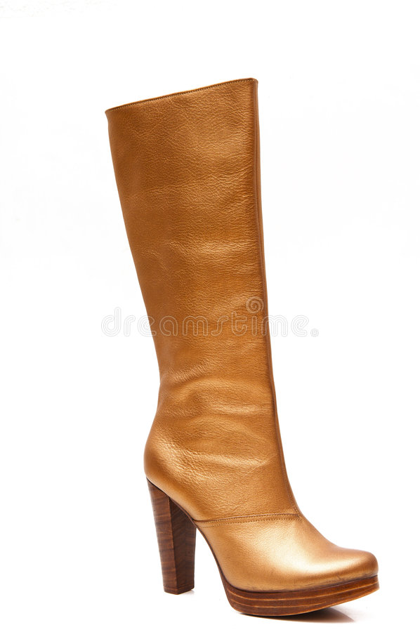 Women's boots royalty free stock images