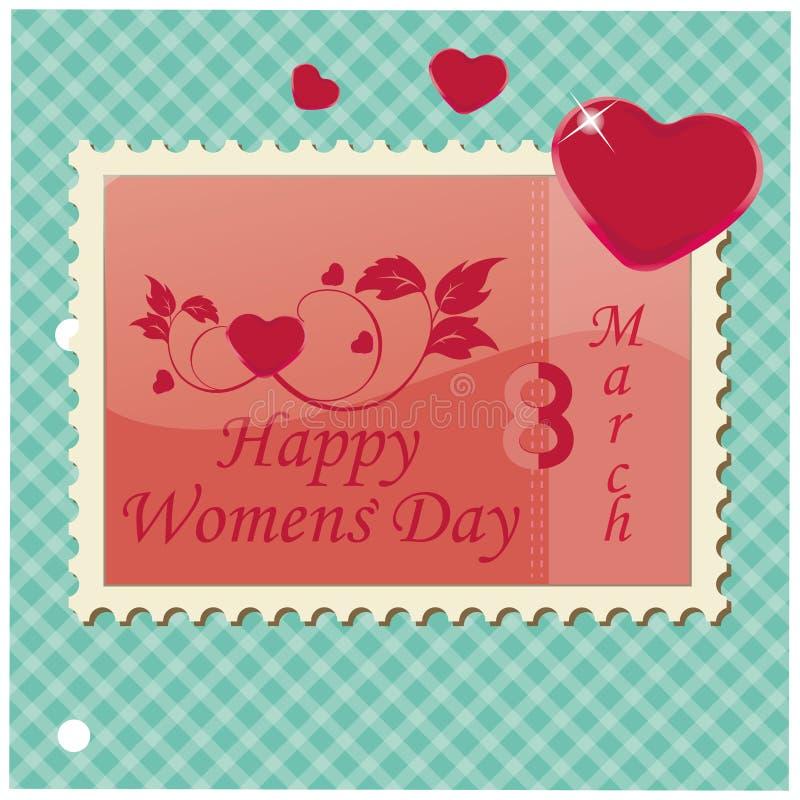 Women's day stock illustration