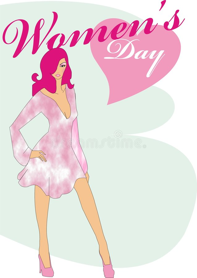 Women S Day Model Royalty Free Stock Images