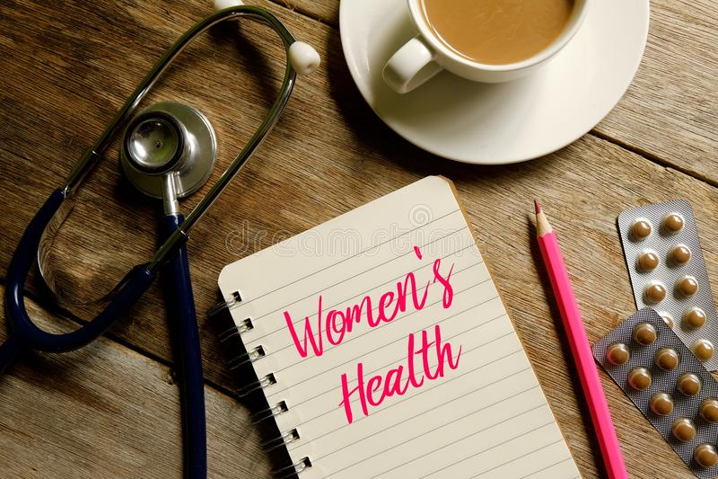 Women& x27; s gezondheid stock fotografie