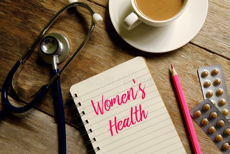Women& x27; s-hälsa arkivbild